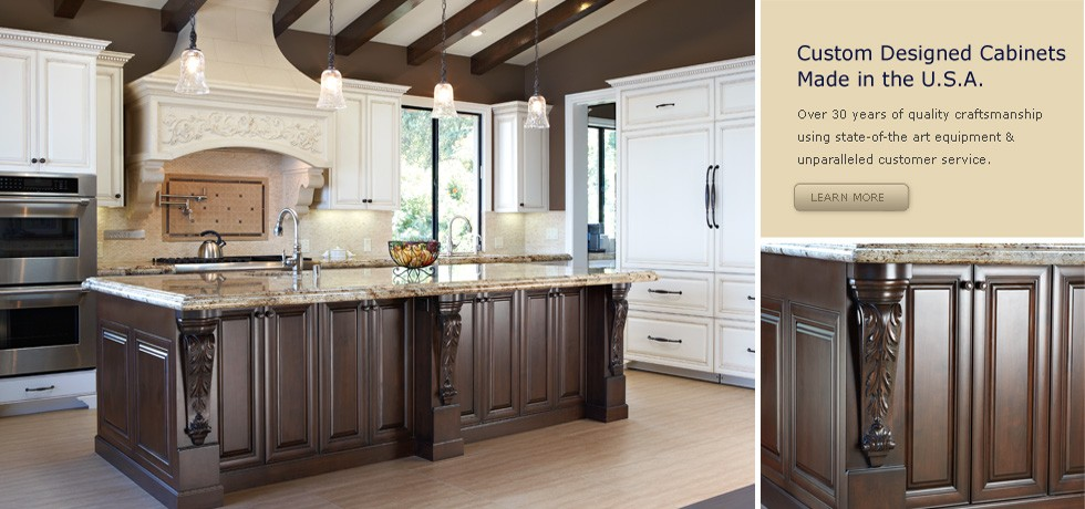 Traditional European Kitchen Cabinetry